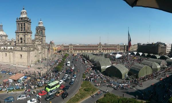 The heart of Mexico: El Zocalo