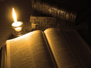 old-books-bible-candle